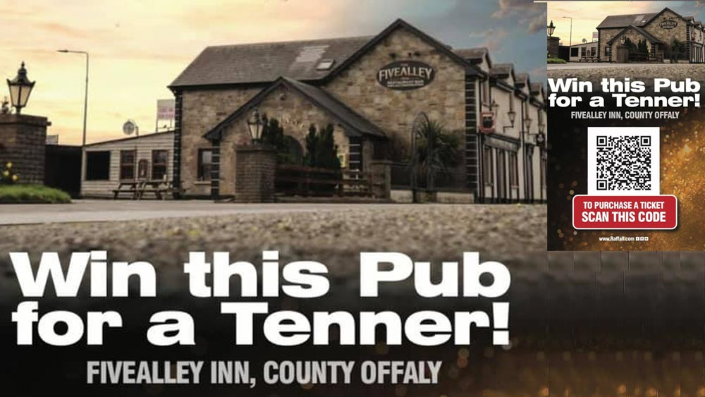 Offaly Hospice Win A Pub